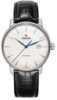 Rado Couple Classic Round Leather Strap Automatic Watch