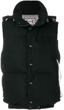 Moncler Gamme Bleu sleeveless padded jacket