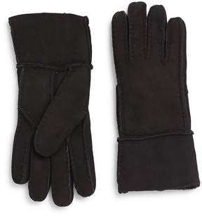 Saks Fifth Avenue Men's Shearling-Lined Suede Gloves