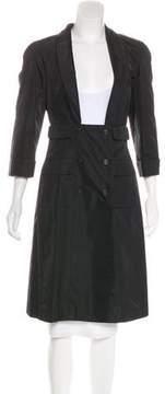Chanel Silk Long Coat