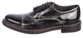 John Varvatos Metallic Derby Shoes