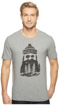 Life is Good Outdoor Beard Smooth Tee Men's T Shirt