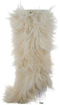 Chanel Fantasy Faux Fur Boots
