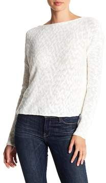 Cupcakes And Cashmere Caddie Open Back Sweater