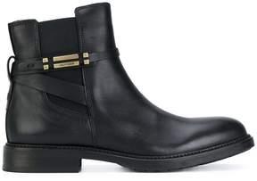 Tommy Hilfiger strap detail boots