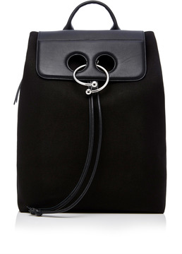 JW Anderson Pierce Canvas And Leather Backpack