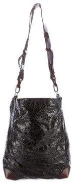 Marni Crackled Leather Shoulder Bag