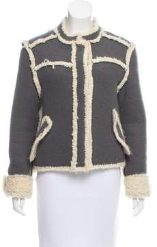 Christian Dior Knit Wool Jacket