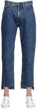 Calvin Klein Jeans Mid Rise Straight Step Hem Denim Jeans