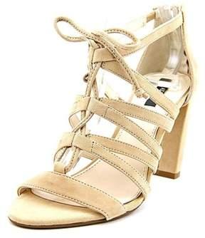 Alfani Womens Jaqui Leather Open Toe Casual Ankle Strap Sandals.