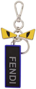 Fendi Multicolor Faces Love Keychain