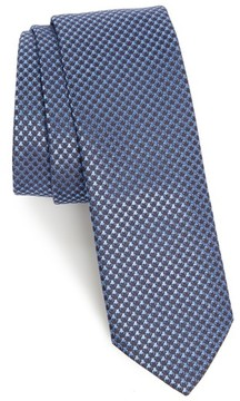 BOSS Men's Houndstooth Silk Tie