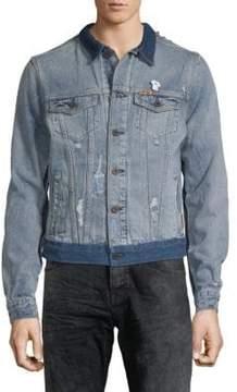 Scotch & Soda Heroes Customized Denim Jacket