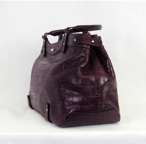 Kate Spade Plum Croc Leather Purse