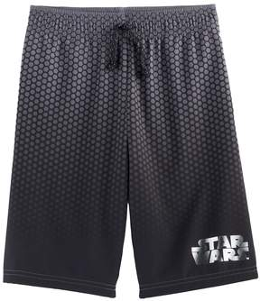 Disney Boys 4-7x Star Wars a Collection for Kohl's Gradient Metallic Logo Mesh Shorts