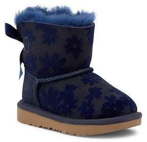 UGG Mini Bailey Genuine Shearling Flower Printed Boot (Toddler & Little Kid)