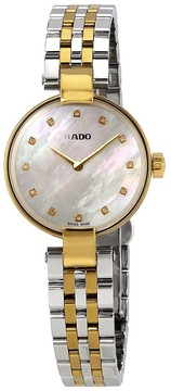 Rado Coupole Mother of Pearl Diamond Dial Ladies Watch