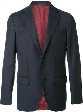 Caruso button-down blazer