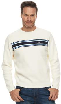 Dockers Men's Milano Classic-Fit Striped Crewneck Sweater