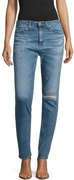 AG Adriano Goldschmied Women's Sophia Distressed Skinny Jeans