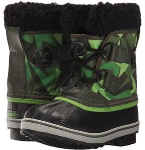Sorel Yoot Pac Nylon Print Boys Shoes