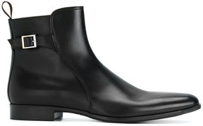 Santoni buckled ankle boots