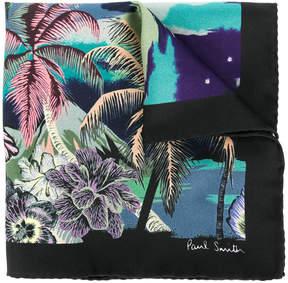 Paul Smith palm tree sky print scarf