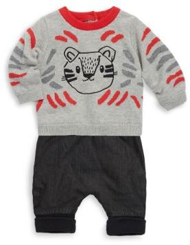 Catimini Boy's Two-Piece Cotton Sweatshirt and Pants