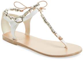 Ancient Greek Sandals Women's Chrysso Beaded Thong Sandal