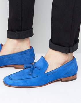 Jeffery West Martini Tassel Suede Loafers