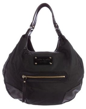 Kate Spade New York Leather-Trimmed Nylon Hobo