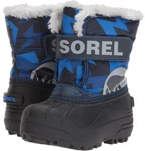 Sorel Snow Commander Print Boys Shoes