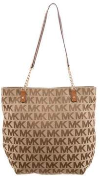 MICHAEL Michael Kors Monogram Canvas Shoulder Bag