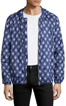 Gant Men's Diamond Hooded Jacket