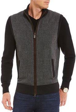 Daniel Cremieux Glen Plaid Full-Zip Vest