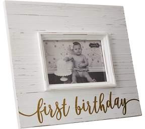 Mud Pie First Birthday Gold Frame Accessories Travel