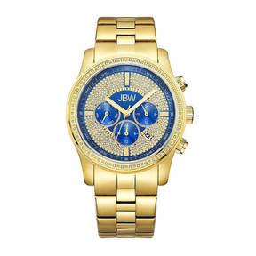 JBW Mens Gold Tone Bracelet Watch-J6337e