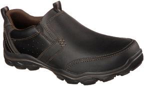 Skechers Devent Mens Moc-Toe Slip-On Shoes