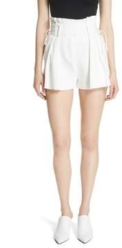 IRO Lalora High Waist Lace-Up Shorts