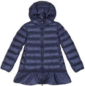 Moncler Nadra Frill Bottom Coat