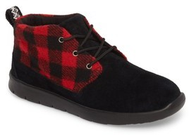 UGG Boy's Canoe Plaid Bootie