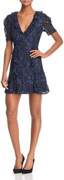 Keepsake Hold On Floral-Lace Dress