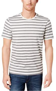 Michael Kors Jaspe Stripe Basic T-Shirt Grey XL