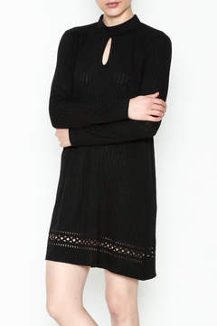 Everly Mock Neck Shift Dress