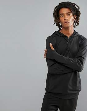 O'Neill Activewear Force Half Zip Hoodie Hyperdry in Black