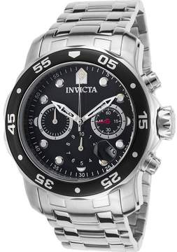 Invicta Watches Mens Pro Diver Chronograph Stainless Steel Watch