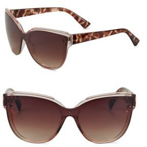 Sam Edelman 139MM Shield Sunglasses