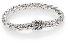 John Hardy Sterling Silver Woven Bracelet