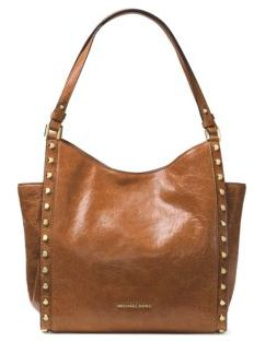 MICHAEL MICHAEL KORS Newbury Leather Convertible Tote