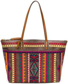 Etro embroidered tote bag